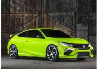 honda unveils new sportier civic at new york auto...