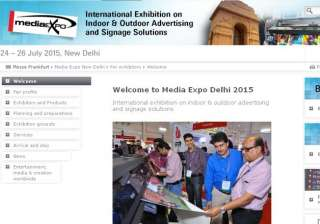 media expo delhi 2015 to take place from july 24...