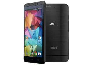 spice launches its first 4g smartphone stellar...