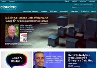 intel picks significant stake in hadoop company...