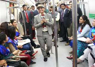 know your metro campaign launched in delhi -...