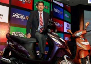 mahindra two wheelers launches rodeo rz sports -...
