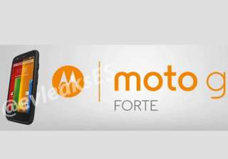motorola to soon launch rugged moto g forte in...