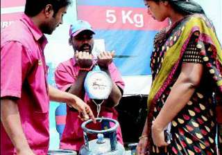 now order mini gas cylinder like pizza - India TV