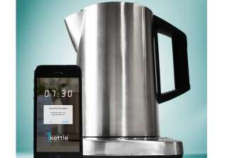 now smart kettle that is controlled by cellphone...