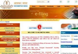 over 1.23 crore e returns filed by taxpayers in...
