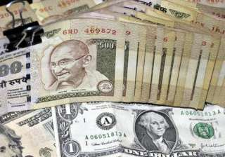 rupee eases against dollar still up 12 paise -...