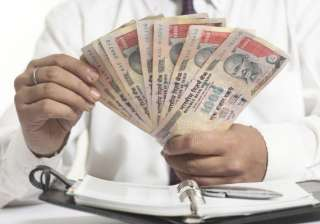 rupee falls sharply by 100 paise to 64.20 against...