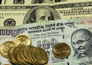 rupee trims initial gains still up by 14 paise vs...