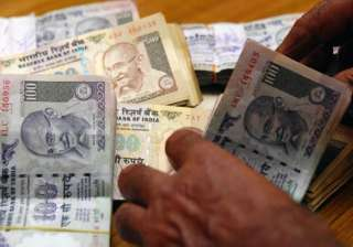 rupee up 73 paise to seven week high of 61.73...