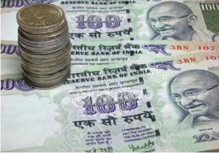 rupee up 77 paise vs dollar on hefty capital...