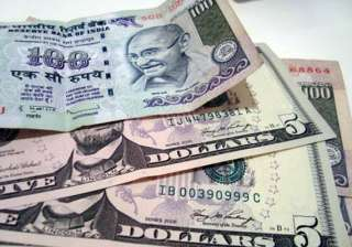 rupee gains 14 paise to 52.54/55 against the...