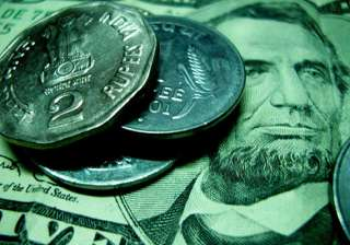 rupee down 9 paise against dollar in early trade...
