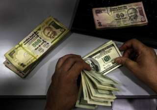 rupee up 5 paise against dollar - India TV