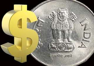 rupee up a whopping 119 paise on gush of dollar...