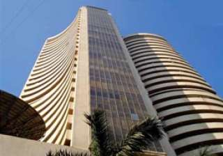 sensex gains 18 points to snap eight day losses -...