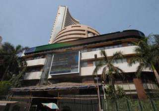 sensex retreats from record down 110 pts on...