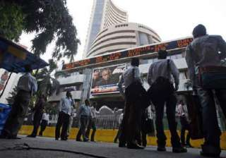 sensex ends on flat note up about 13 points -...
