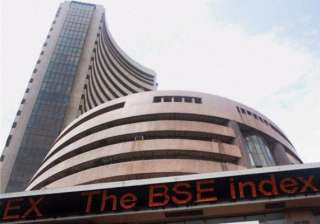 sensex gains 56 pts ahead of rbi policy - India TV