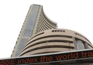 sensex falls 203 pts as higher inflation trims...