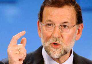 spain is overcoming serious crisis pm - India TV