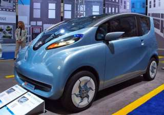 tata unveils cheap electric car - India TV
