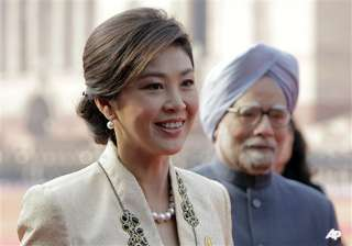 thai pm wants to double trade with india - India...