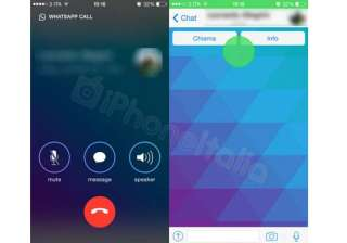 whatsapp s new voip feature s images leak online...
