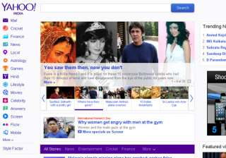yahoo india revamps its home page adds read it...