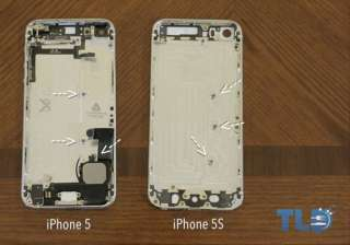 iphone 5s gold and graphite back shells appear in...