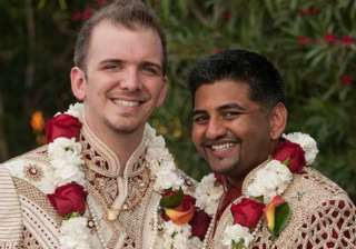 meet the gay couple who got hitched in bollywood...
