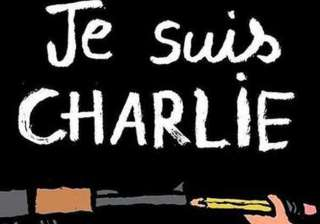 je suis charlie becomes slogan of masses - India...