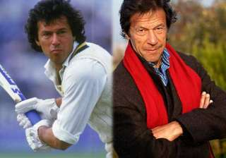 new pakistan imran khan opens the innings with a...