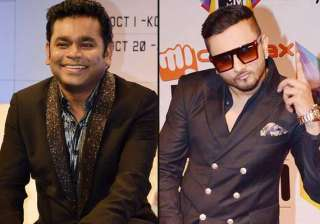 a.r. rahman honey singh to compete at mtv europe...
