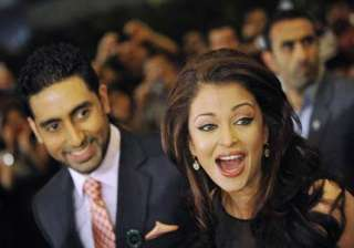 abhishek nervous about his first comedy with ash...