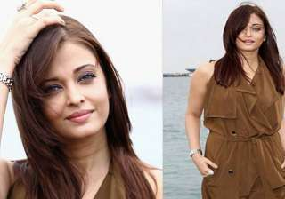 aishwarya wears a pretty brown dress at cannes -...