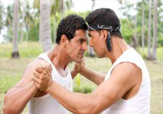 akshay john abraham almost come to blows - India...