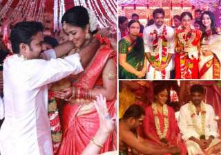 amala paul and vijay tie the knot in south indian...
