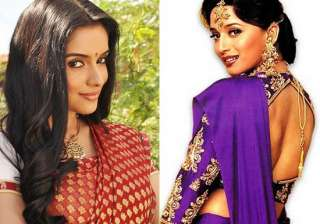 asin inspired by madhuri s hahk for her film...