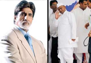 big b extends support to hazare - India TV