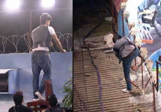 bigg boss 7 kushal tandon escapes from the house...
