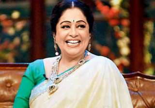 black flags eggs welcome actress kirron kher in...