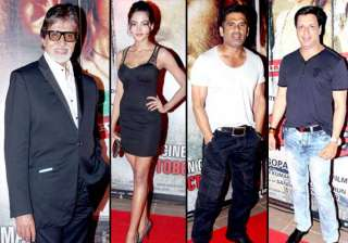 bollywood biggies attend satya 2 theme party view...