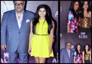 complete kapoor khandaan at sridevi s birthday...