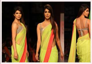 feel scared walking the ramp priyanka chopra -...