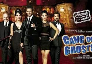 gang of ghosts movie review no ghost bumps for...