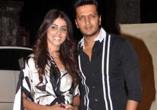 genelia received first last telegram from riteish...