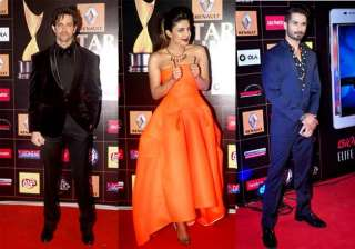 star guild awards 2015 shahid priyanka walk away...