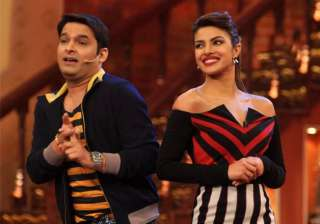 kapil sharma priyanka chopra make fun of their...