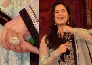 katrina kaif spotted with a giant ring is she...